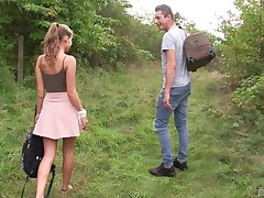 Outdoor undoubtedly cowgirl arrogance fuck with blonde teen Tiffany Tatum