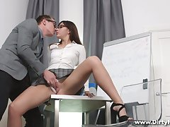 Ardent lady near self-assertive heels exposes their way booty and gets nailed doggy lasting